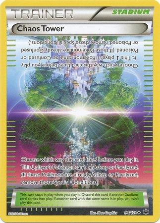 (Pokemon - Chaos Tower (94/124) - XY Fates Collide )