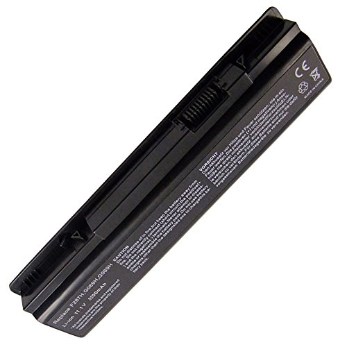 11.1V New 6 Cell Laptop/Notebook Battery for DELL Vostro A860n Series Vostro A860 Vostro 1015 Vostro 1014 Inspiron 1410 Replacement Laptop Battery for DELL 451-10673 312-0818(6-Cells 5200 Mah)