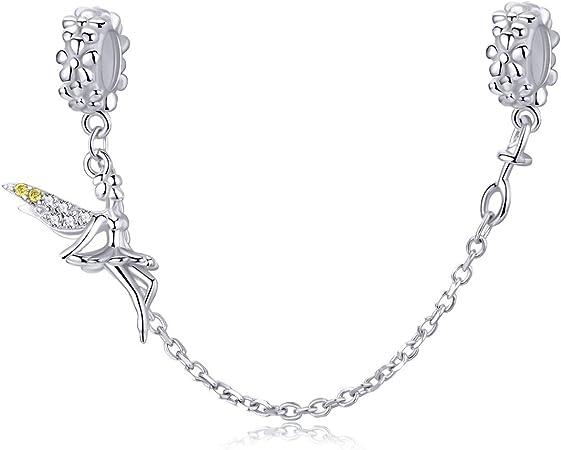 Argent Sterling 925 Pan Nouveautés Bracelet Moments Bracelet pour Charm Bead