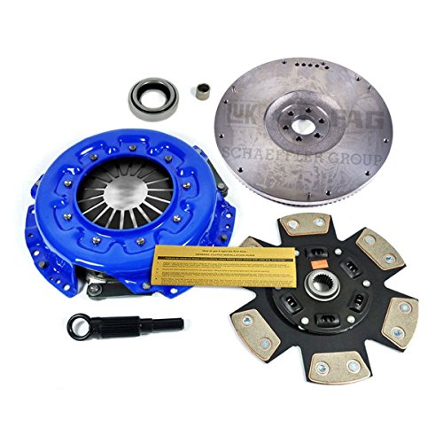 EF STAGE 3 CLUTCH KIT+HD FLYWHEEL fits 98-99 NISSAN FRONTIER 96-97 PICKUP 2.4L ()