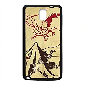 Unique mountain and red dinosaur Cell Phone Case for Samsung Galaxy Note3 by Maris's Diary