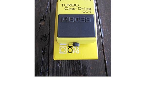 Amazon.com: 1980S Boss OD-2 TURBO OVERDRIVE MIJ VINTAGE Yellow: Everything Else