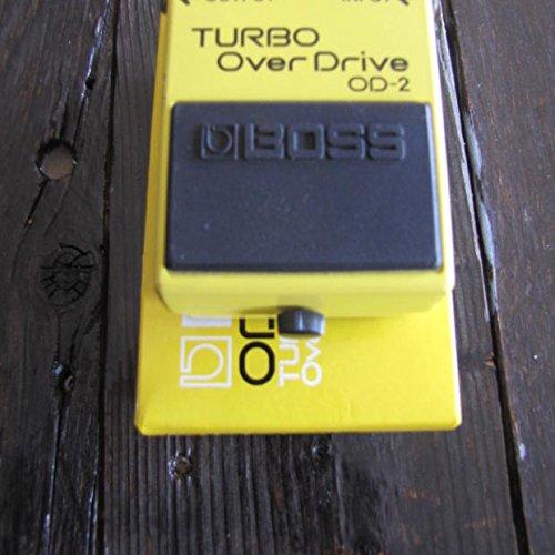 (1980'S Boss OD-2 TURBO OVERDRIVE MIJ VINTAGE Yellow)
