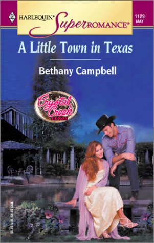 book cover of A Little Town in Texas