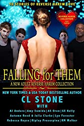 Falling For Them: A New Adult Reverse Harem Collection