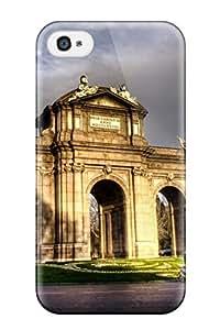 Excellent Design Puerta De Alcal?? Case Cover For Iphone 4/4s