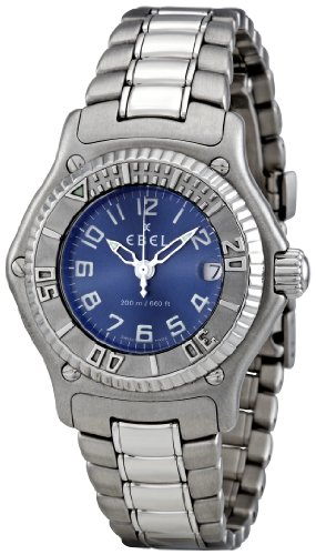 Ebel Women's 9087321-4665P Discovery Blue Dail Watch