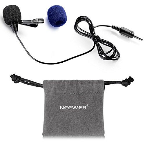 Neewer%C2%AE Lavalier Omnidirectional Microphone Samsung