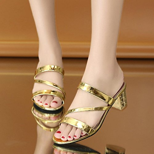 Femme Chaussures Summer Femme Chaussures IGEMY Hauts Sandales Chaussons Femmes Talons Fashion Cheville wIdBEEq