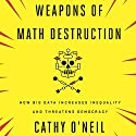 Weapons of Math Destruction: How Big Data Increases Inequality and Threatens Democracy Audiobook by Cathy O'Neil Narrated by Cathy O'Neil
