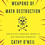Weapons of Math Destruction: How Big Data Increases Inequality and Threatens Democracy   Cathy O'Neil