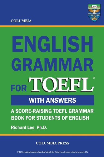 Columbia English Grammar for TOEFL (Paperback)-cover