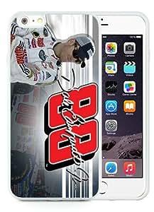 Hot Sale iPhone 6 Plus TPU Screen Case ,Dale Earnhardt Jr 2 White iPhone 6 Plus 5.5 Inch TPU Unique And Popular Designed Phone Case