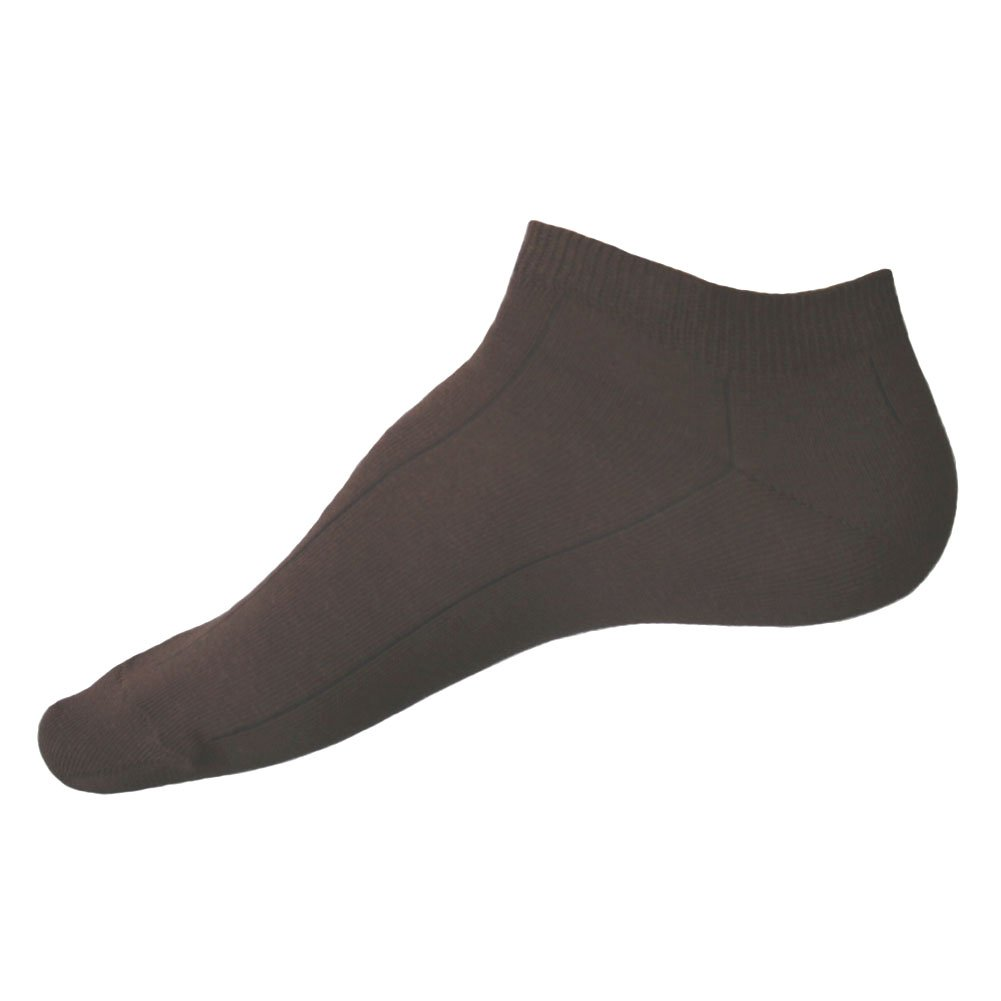 10-12 No Show Socks With Stripes For Men 2 Pairs Deep Blue Size