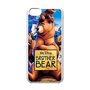 iPhone 5C Phone Case White Brother Bear ES3TY7844823