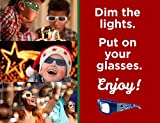 Holiday Specs Plastic 3D GLASSES- 4pk Holographic