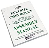 Inline Tube (I-2-16) Factory Assembly Manual for 1958 Chevrolet Full Size Cars Bel Air