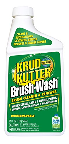 KRUD KUTTER BW32 Brush-Wash Cleaner and Renewer, 32-Ounce (Cleaner Paint Brush)