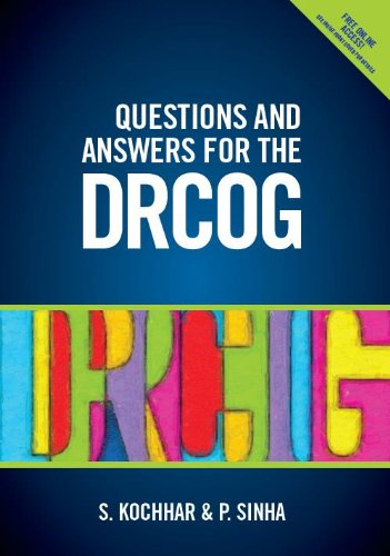 Questions and Answers for the DRCOG Suneeta Kochhar