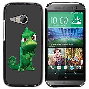"For HTC ONE MINI 2 / M8 MINI , S-type Camaleón Tough divertido"" - Arte & diseño plástico duro Fundas Cover Cubre Hard Case Cover"