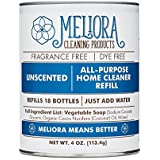 Meliora Cleaning Products All-Purpose Home Cleaner - REFILL for 18 Bottles