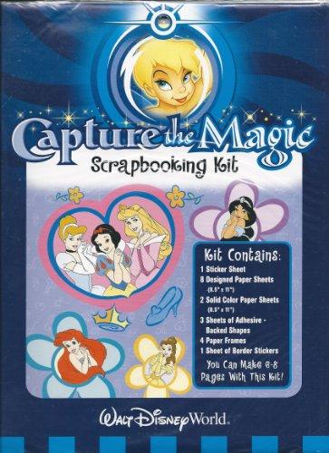 Disney Princess Capture the Magic Scrapbooking Kit, Makes 6-8 Pages