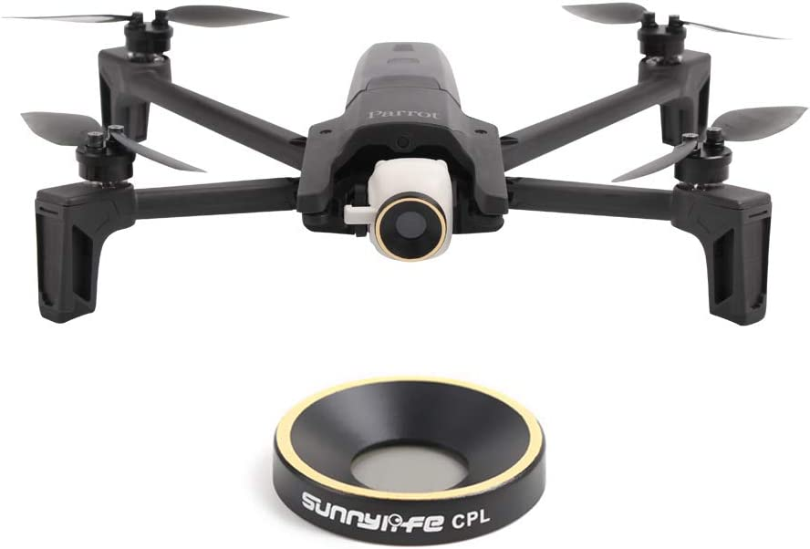 ND4 + ND8 + ND16 Yifant Parrot Anafi Drone Lens Filter Multi-Coated HD UV CPL ND4 ND8 ND16 ND32 Camera Lens Filters