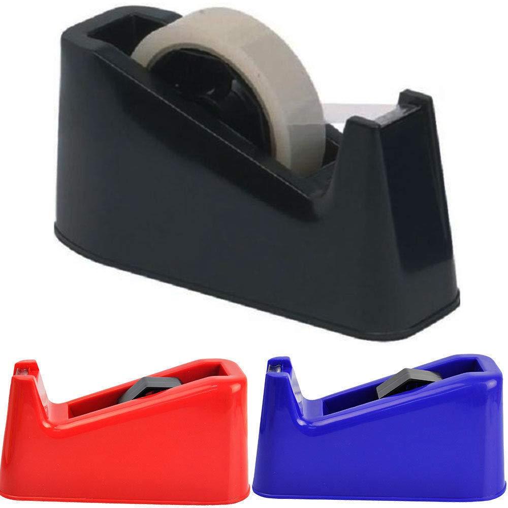 1 X Heavy Duty Sellotape Desktop Tape Dispenser Weighted Anti Slip +1 Free Sellotape Just Stationery