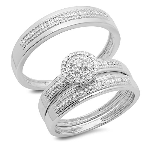 Diamond Womens Cluster Engagement Bridal product image