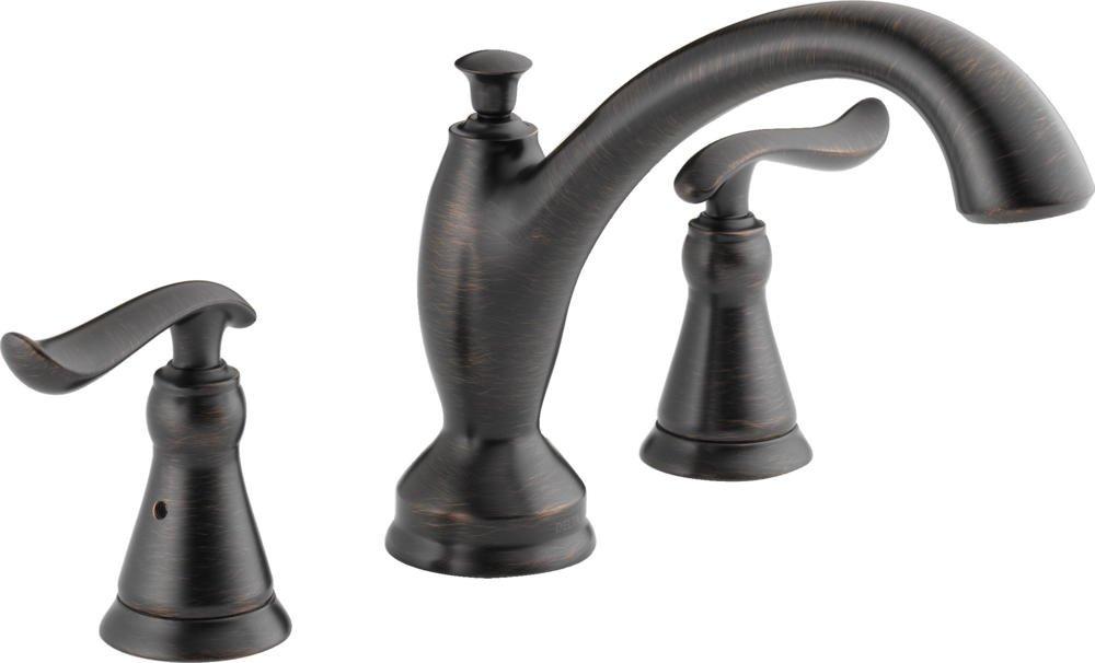 Delta T2794-RB Linden Roman Tub Trim, Venetian Bronze - Faucet Trim ...