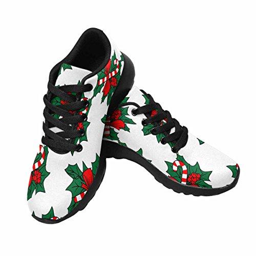 Interestprint Mujeres Jogging Correr Zapatillas Ligeras Ir Fácil De Caminar Casual Confort Zapatos Corrientes Candy Candy Sticks Multi 1