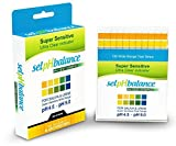 100Ct Expert Popular pH Balance Tester Strips Drinking Water Urine Saliva Results in 15 Seconds with Color Chart