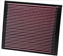 K&N 33-2069 Filtro de Aire Coche, Lavable y Reutilizable