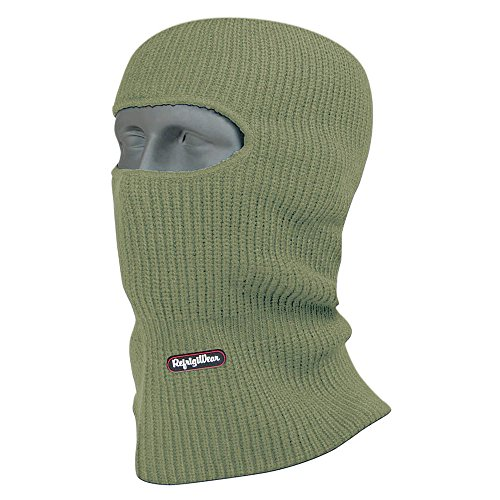 Refrigiwear Open Hole Face Mask Sage One Size Fits All