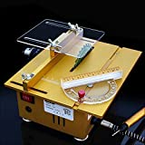 Multifunction Mini Table Saw Handmade Woodworking