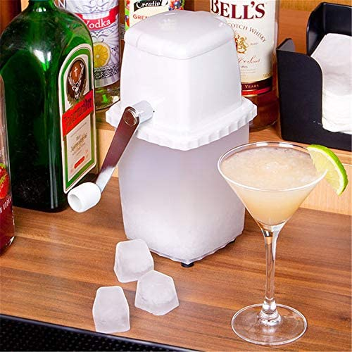 1 Manual Hand Crank Ice Grinder For Fine Or Coarse Pieces Ice Crusher IECS0001 Essential Kitchen Tool