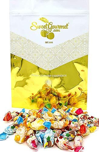 Arcor Assorted Filled Fruit BonBons bulk hard candy assorted fruit candies (3Lb) ()
