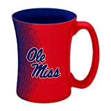 Boelter Brands NCAA Mississippi Ole Miss Rebels Sculpted Mocha Mug, 14-Ounce