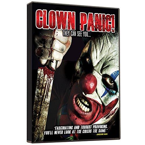 Clown Panic DVD (Bizarre And Disturbing Reflection Of A Fear-Based (Sinister Clown Makeup)