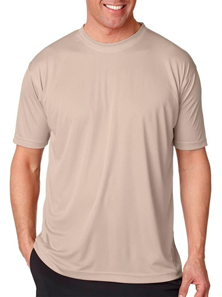 Moisture-wicking men's cool and dry sport performance tee. 8420