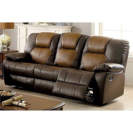 Astounding Amazon Com Furniture Of America Aberdeen Reclining Sofa In Uwap Interior Chair Design Uwaporg