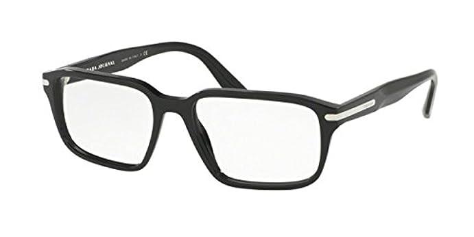 Prada PR09TV Eyeglass Frames 1AB1O1-55 - Black PR09TV-1AB1O1-55 at ...