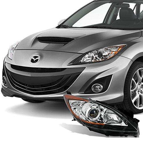For [Halogen Type] 2010 2011 2012 2013 Mazda 3 Mazda3 Passenger Right RH Side Projector Headlight Lamp