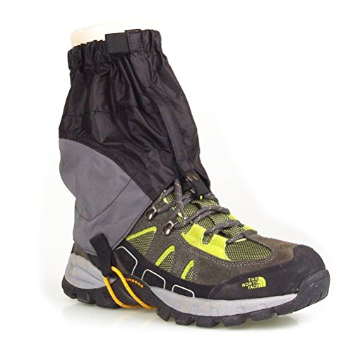 tdoor Waterproof Ankle Walking Gaiters Hiking - 1 Pair ()