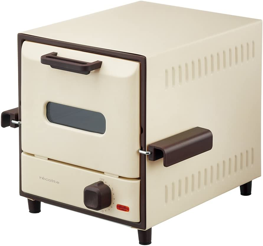 """recolte Toaster Ovens """"Slide Rack Oven Delicat"""" RSR-1(W) (White)【Japan Domestic genuine products】"""