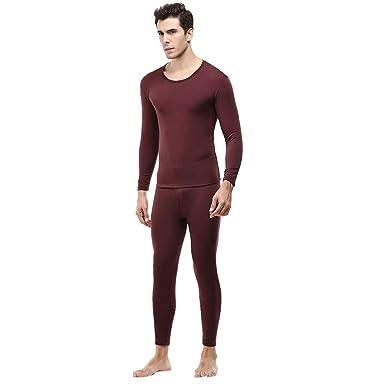 Jaysis☺ Men s Thermal Underwear Set a827315296db