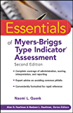 Essentials of Myers-Briggs Type Indicator Assessment (Essentials of Psychological Assessment Book 66)