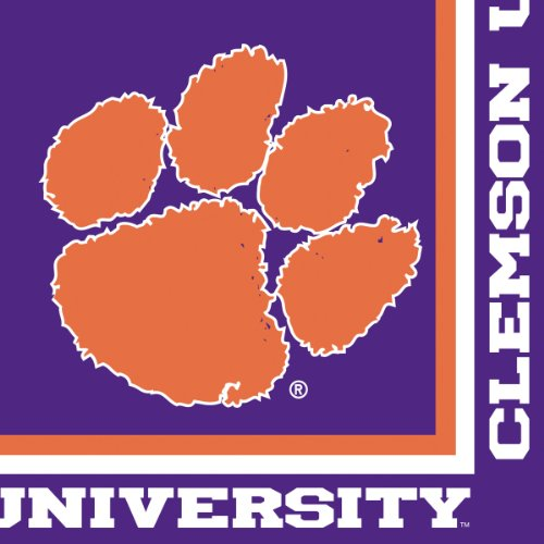 Clemson Mascot Costume (Clemson Tigers Lunch Napkins, 20-Count)