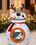 Disney Star Wars Reindeer BB-8 with Scarf Airblown Inflatable