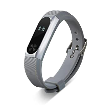 Correas xiaomi Band 2,☀️Modaworld Correa de Pulsera de reemplazo Correa de Reloj Elegante + Caja de Metal para Pulsera Xiaomi Mi Band 2 (Astilla): ...